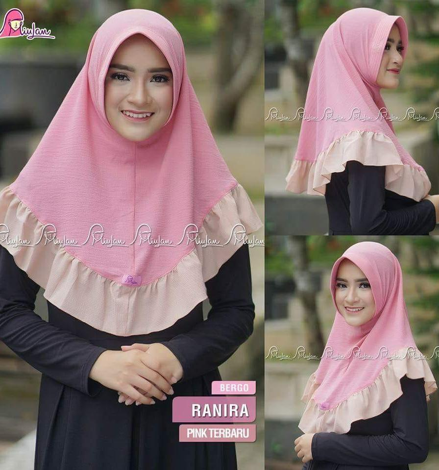 Jual Miulan Bergo Hijab Murah Garansi Dan Berkualitas Id Store Jilbab Anak Serut Laura Laris Shellie Kids Size Midr65000 Rp 65000