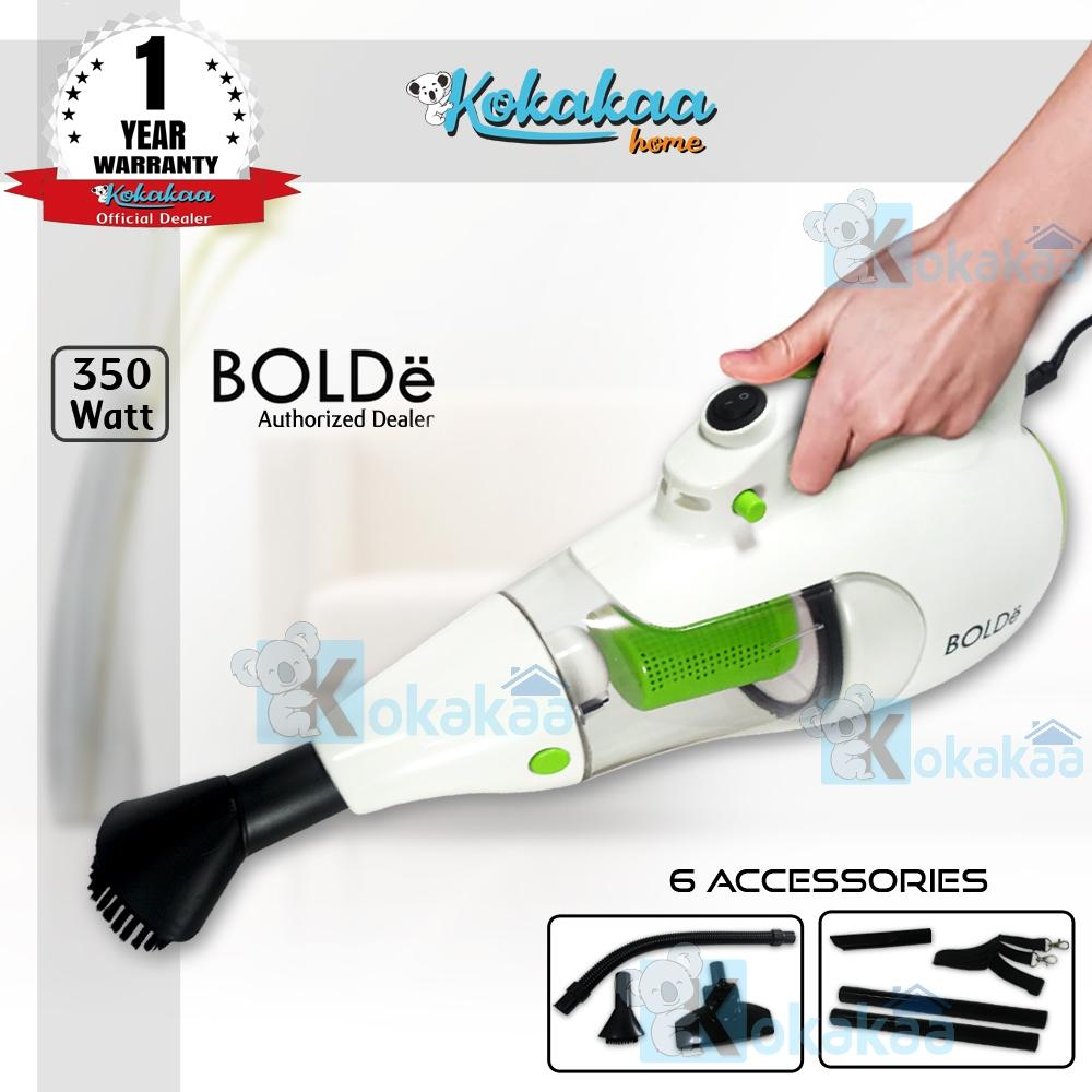Bolde Super Hoover Vacuum Cleaner with Elastic Hose & Blower Bundle Vacum Cleaner - Putih-