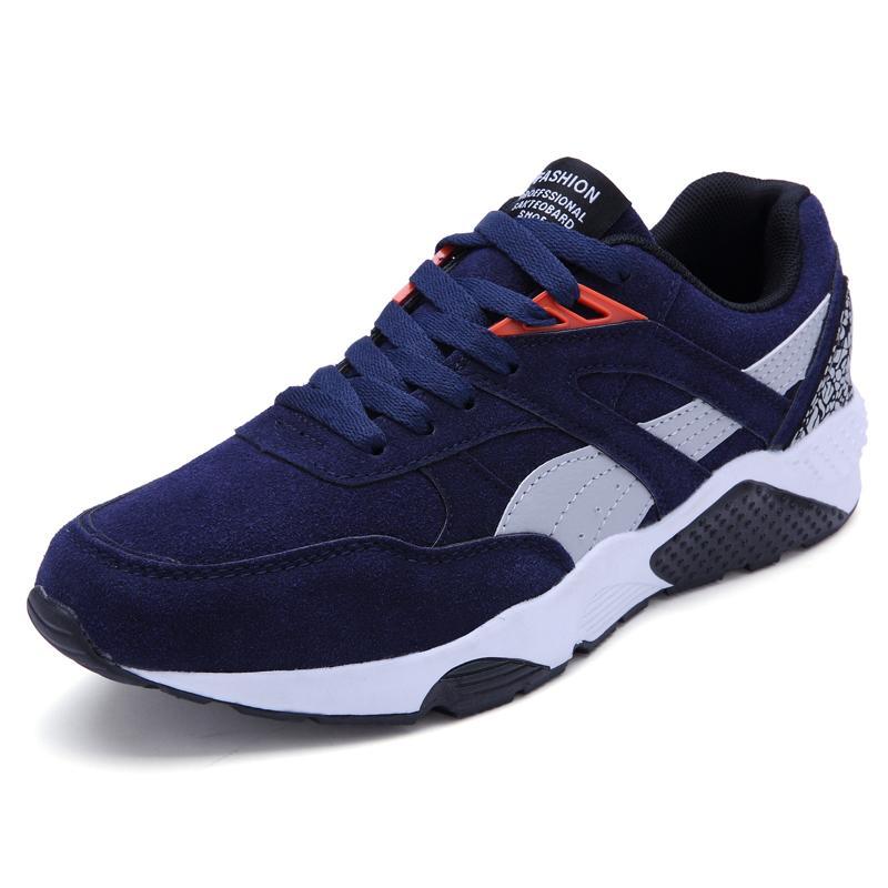 Busana Kasual Pria LACE UP Menjalankan Sneakers Sepatu Menjual-Intl 061aceee30
