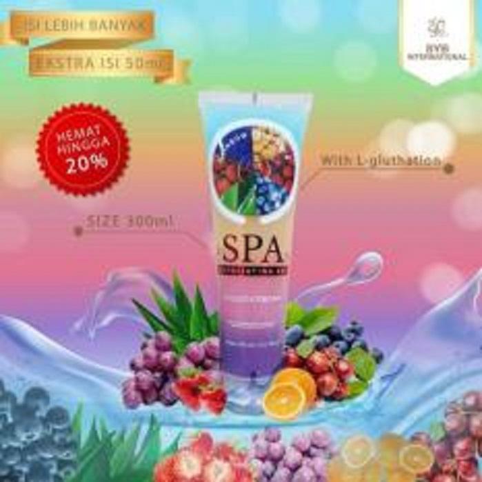 Body Spa Gel By SYB Exoflating With Glutathion BPOM - Rainbow Fruitamin