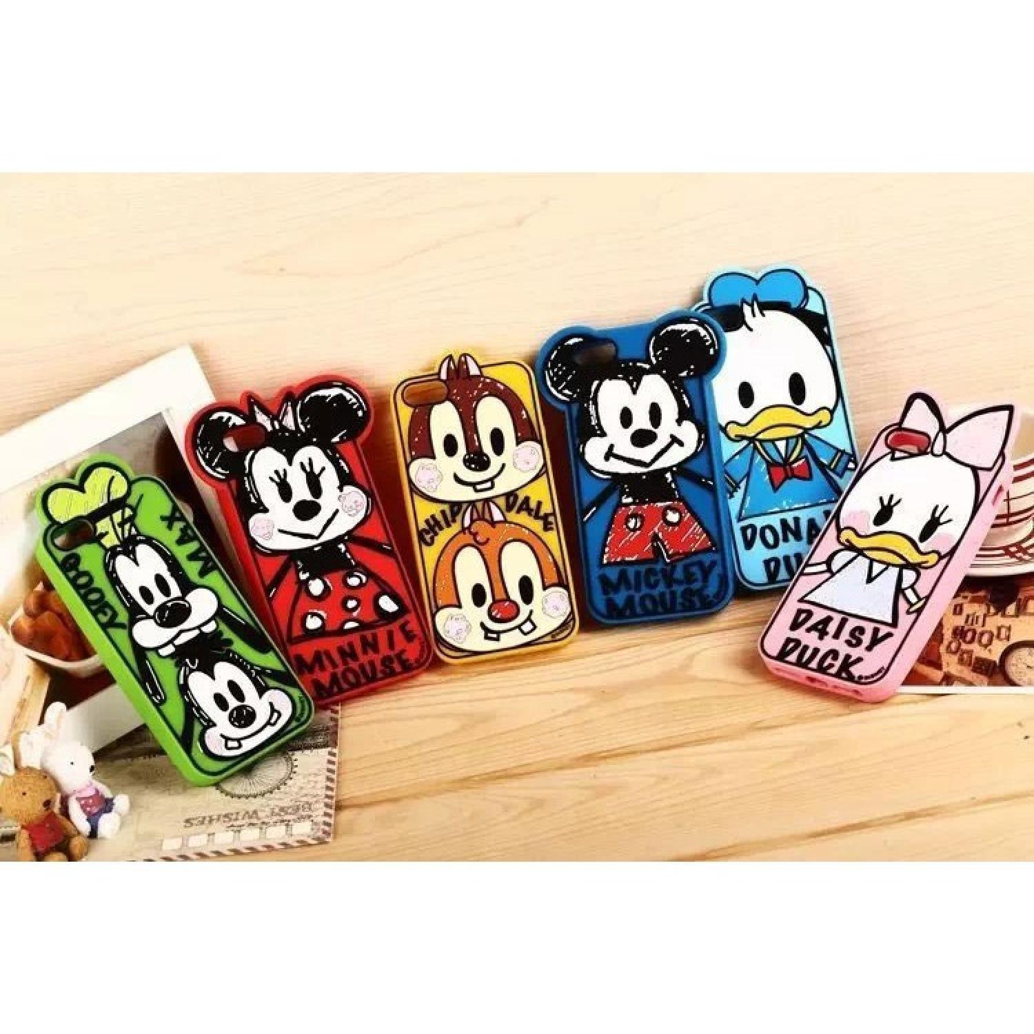 Stylish Donald Duck TPU Case for iPhone 5/5s/SE