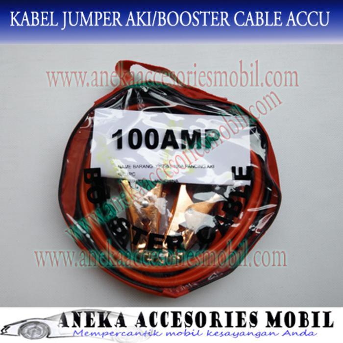 Kabel Jumper Aki/Booster Cable Accu 100 Ampere