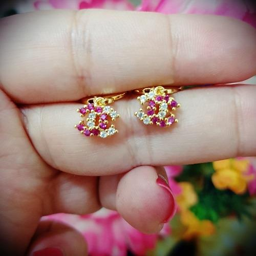 anting chanelll warna cantik xuping