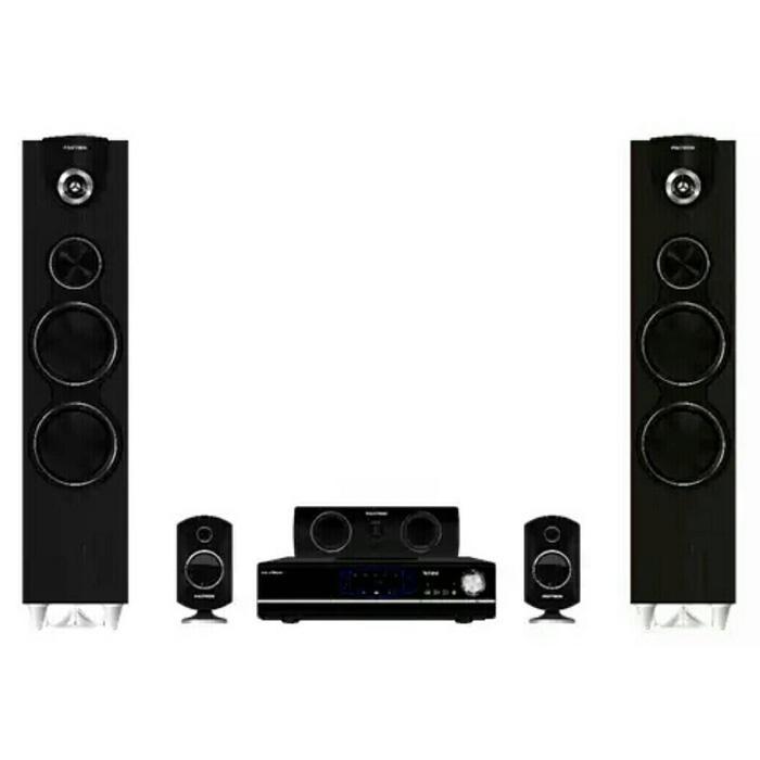 Referensi Polytron BB5510 Big Band Theater 5.0Ch Bluetooth Radio Tape Deck HDMI speaker aktif / speaker laptop / speaker super bass