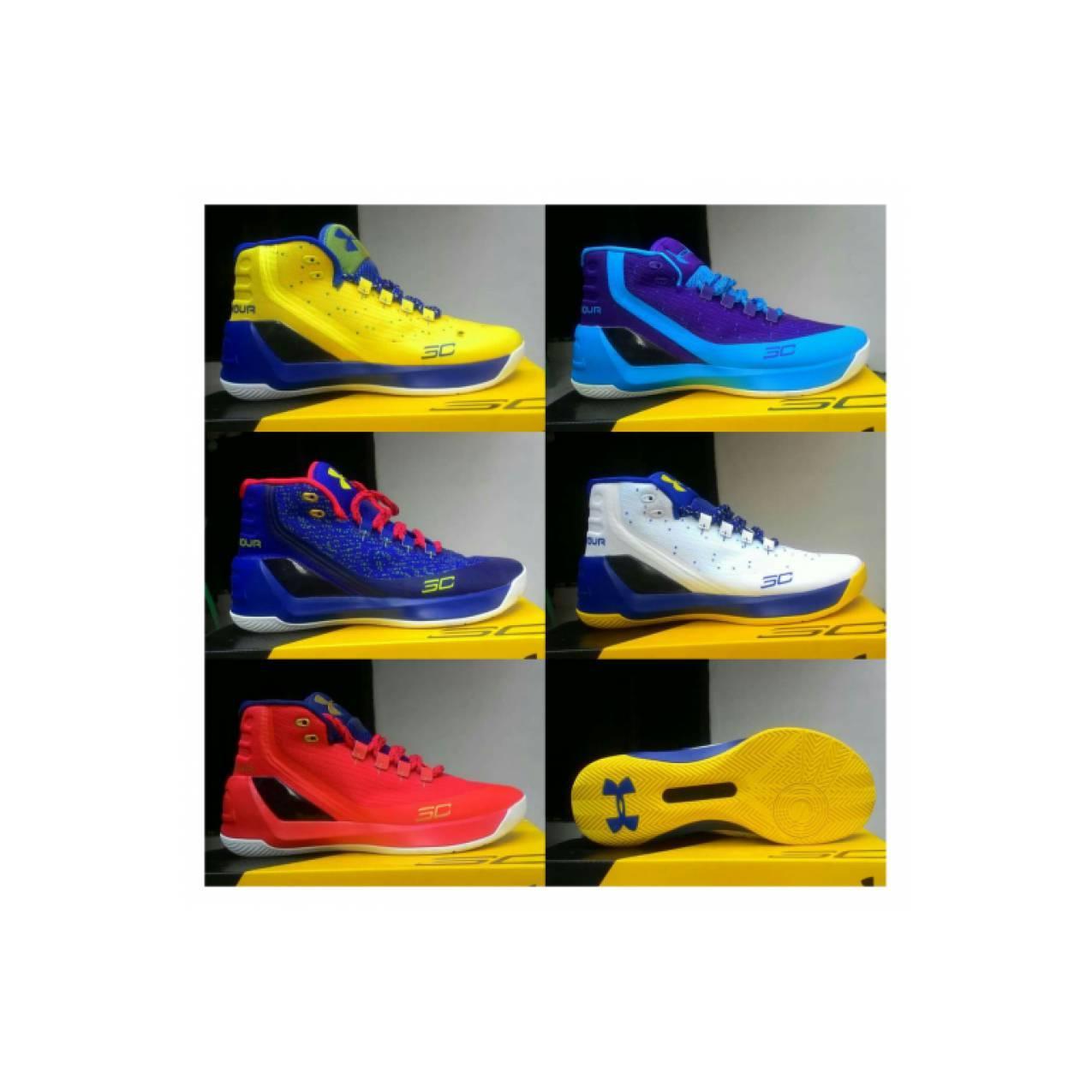 Under Armour Curry 3.0 Premium Sepatu Basket Pria