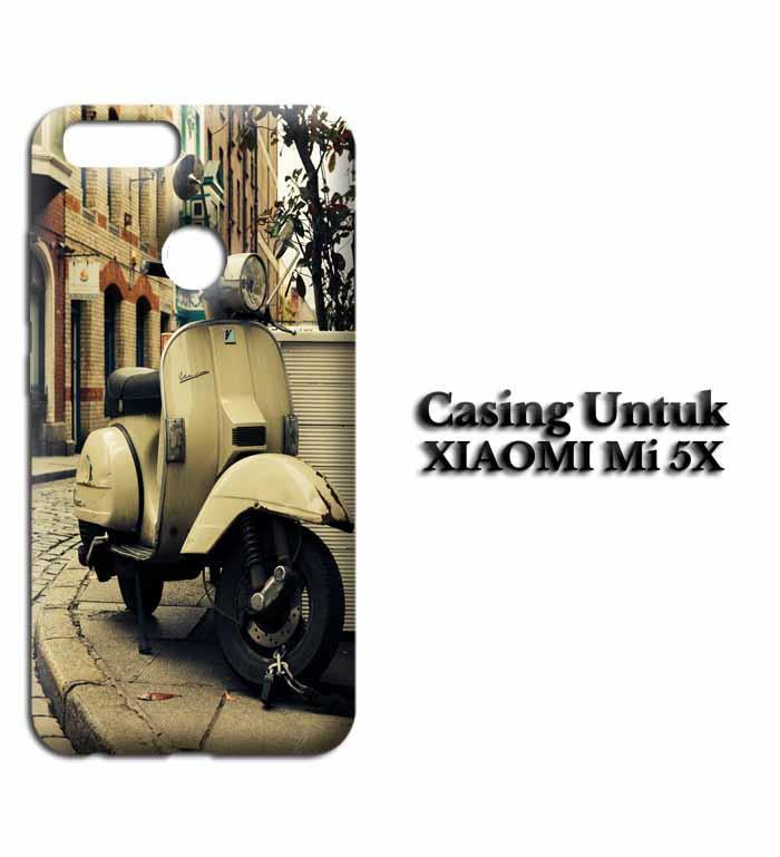 Casing XIAOMI Mi 5X vespa wall Hardcase Custom Case Se7enstores