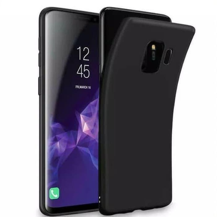 Case Slim Black Matte Samsung J6 2018 Softcase Anti minyak