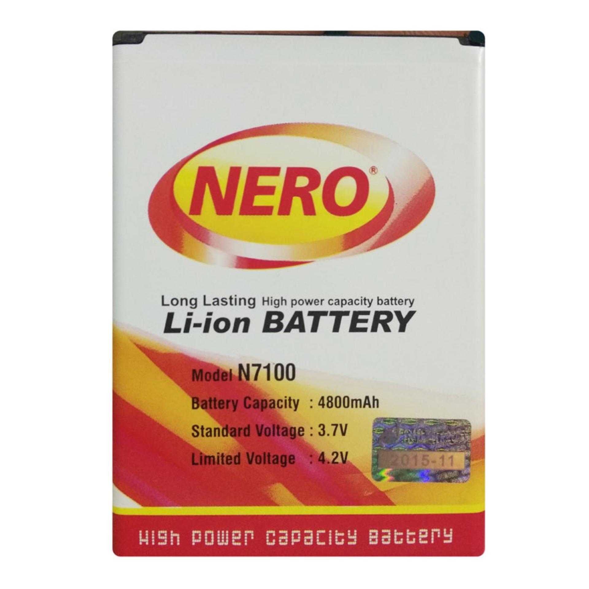 Nero Baterai Samsung Galaxy Note 2 / N7100 - Double Power Battery - 4800 mAh