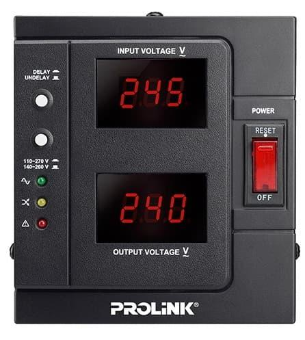 Stabilizer Prolink 2000 Va - Auto Voltage Regulator Pvr2000 D By Kompurindo.