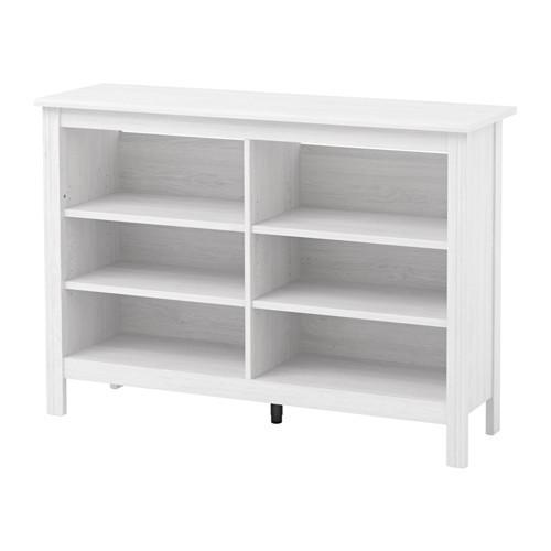 PROMO!! IKEA BRUSALI Meja TV 120x85 cm, desain elegan, putih MURAH /  BUBBLE 3 LAPIS / ORIGINAL / IKEA ORIGINAL
