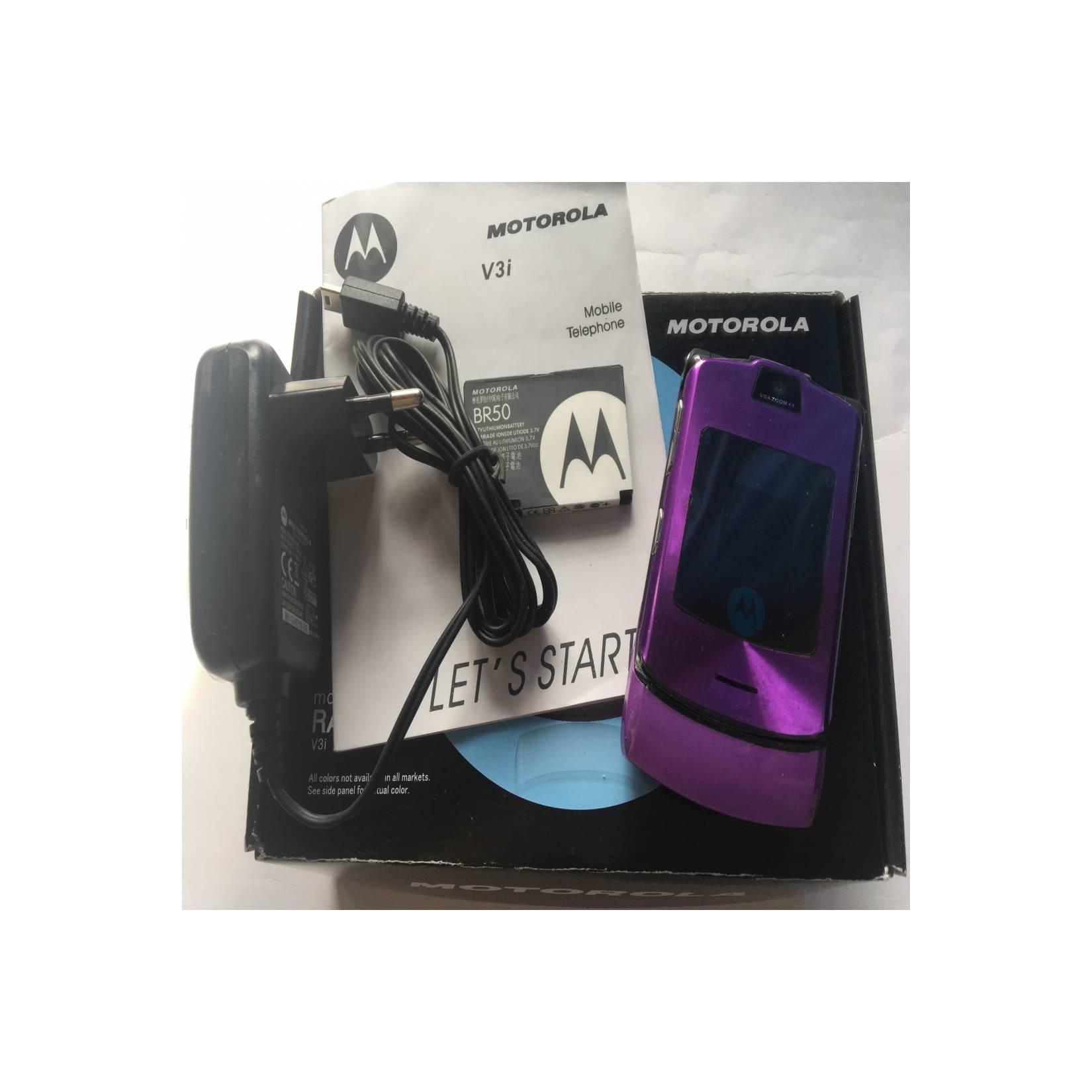 Motorola RAZR V3i Purple - HP Jadul Original