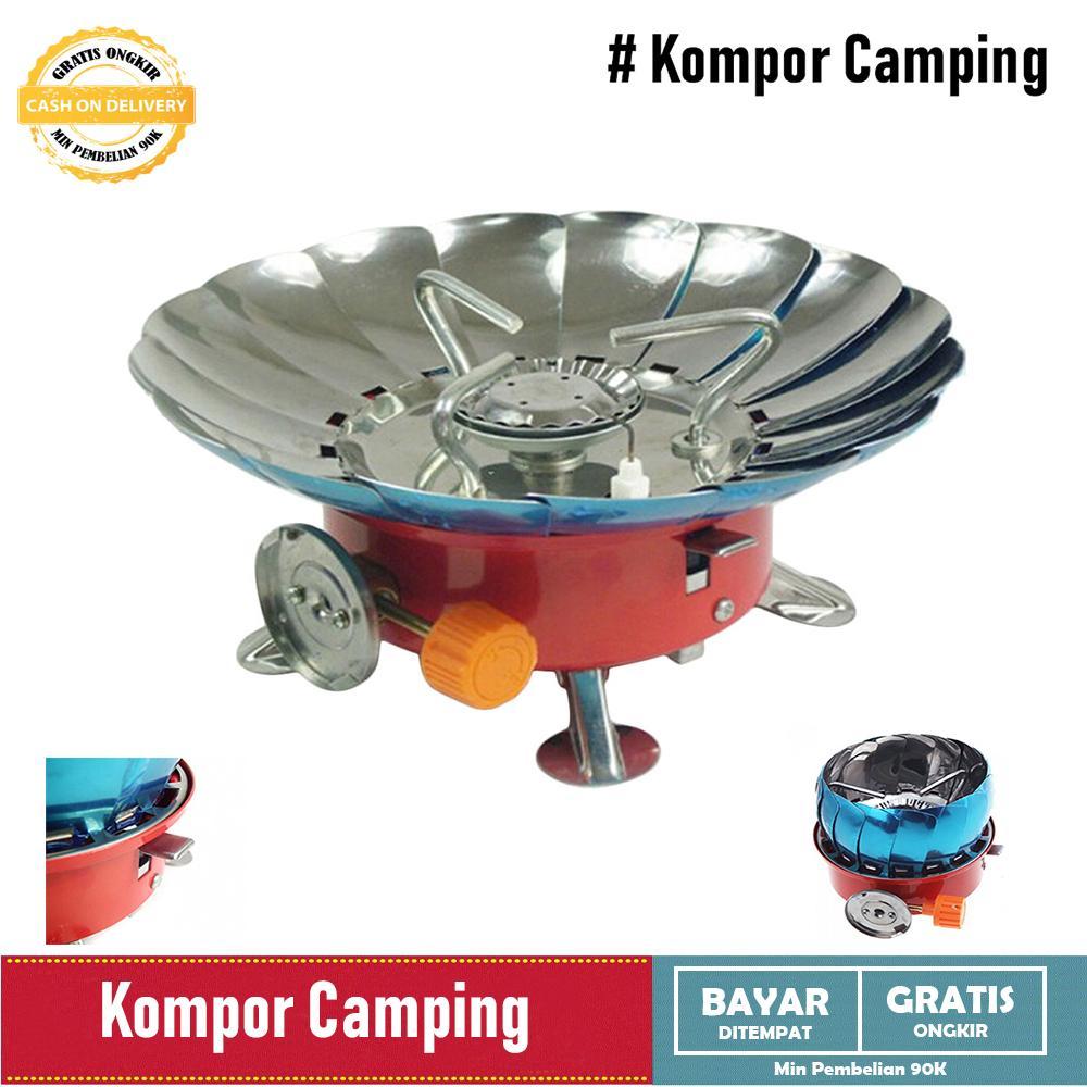 Jual Kompor Kemah Terbaik Eiger Camping Portable Mini Wind Proof Anti Angin