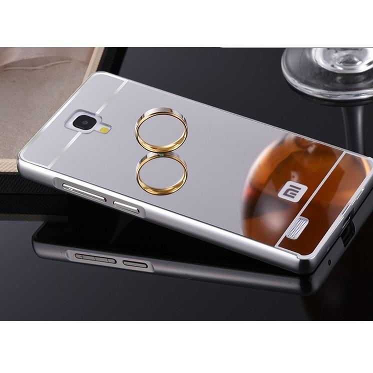 HOT DEALS!!  Aluminium Tempered Glass Hard Case Casing Cover Hp Xiaomi Redmi Note 1 TERMURAH / MURAH / PACKING RAPIH / PENGIRIMAN CEPAT