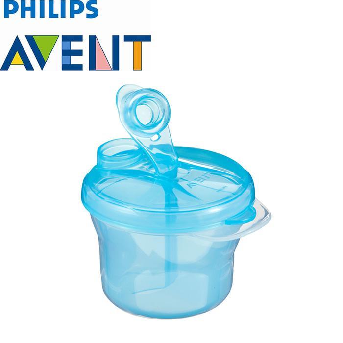 Philips Avent Milk Powder Dispenser / Container Susu Bubuk Formula / Tempat Simpan Susu sekat 3 bagian
