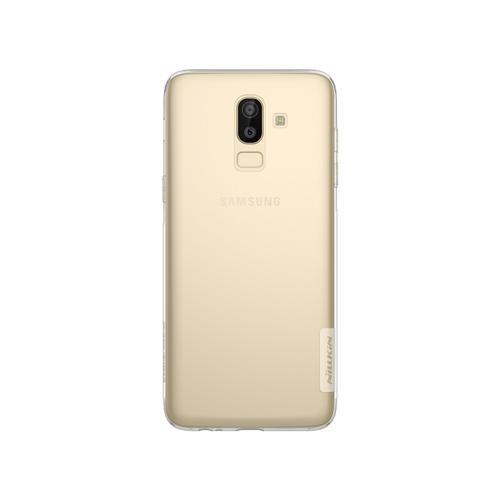 Nillkin ORIGINAL Nature Samsung Galaxy J8 2018 - Clear/Transparan Bening Ultrathin TPU Jelly Silicone Softcase Backcase Case HP Casing Handphone
