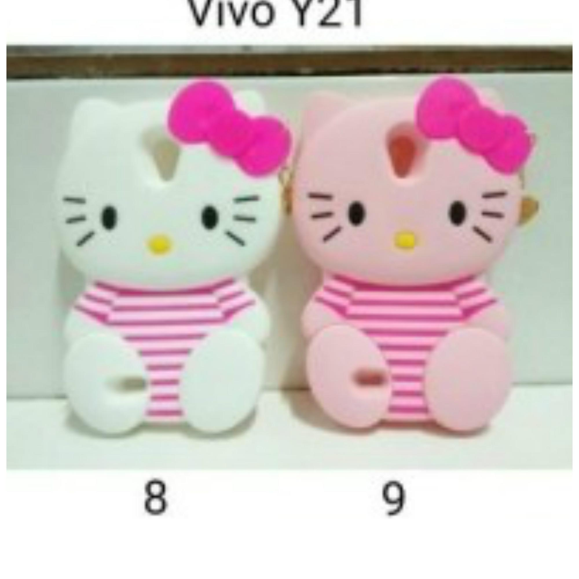 Aimi Vivo Y21 Y22 Flipshell Flipcover Sarung Case Hijau Tosca Best Source · Aimi Flip Cover Flipshell Casing For Source Silicone 3D hello kitty