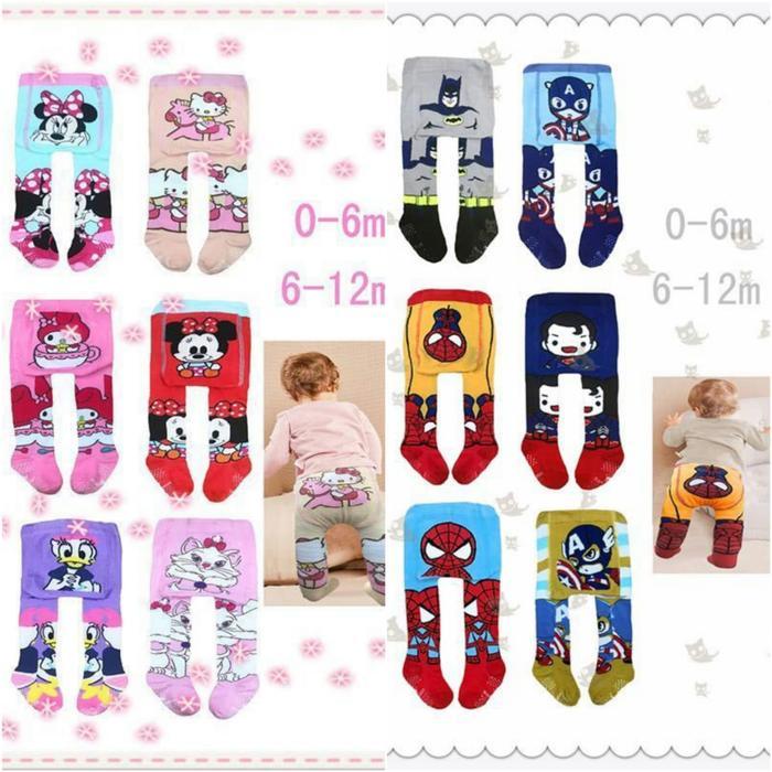 Legging Bayi Catton Rich Celana Bayi Baby Boys Girls Unisex Cowok Cewek Karakter Lucu - 1 Pcs By Cute Baby Shop.