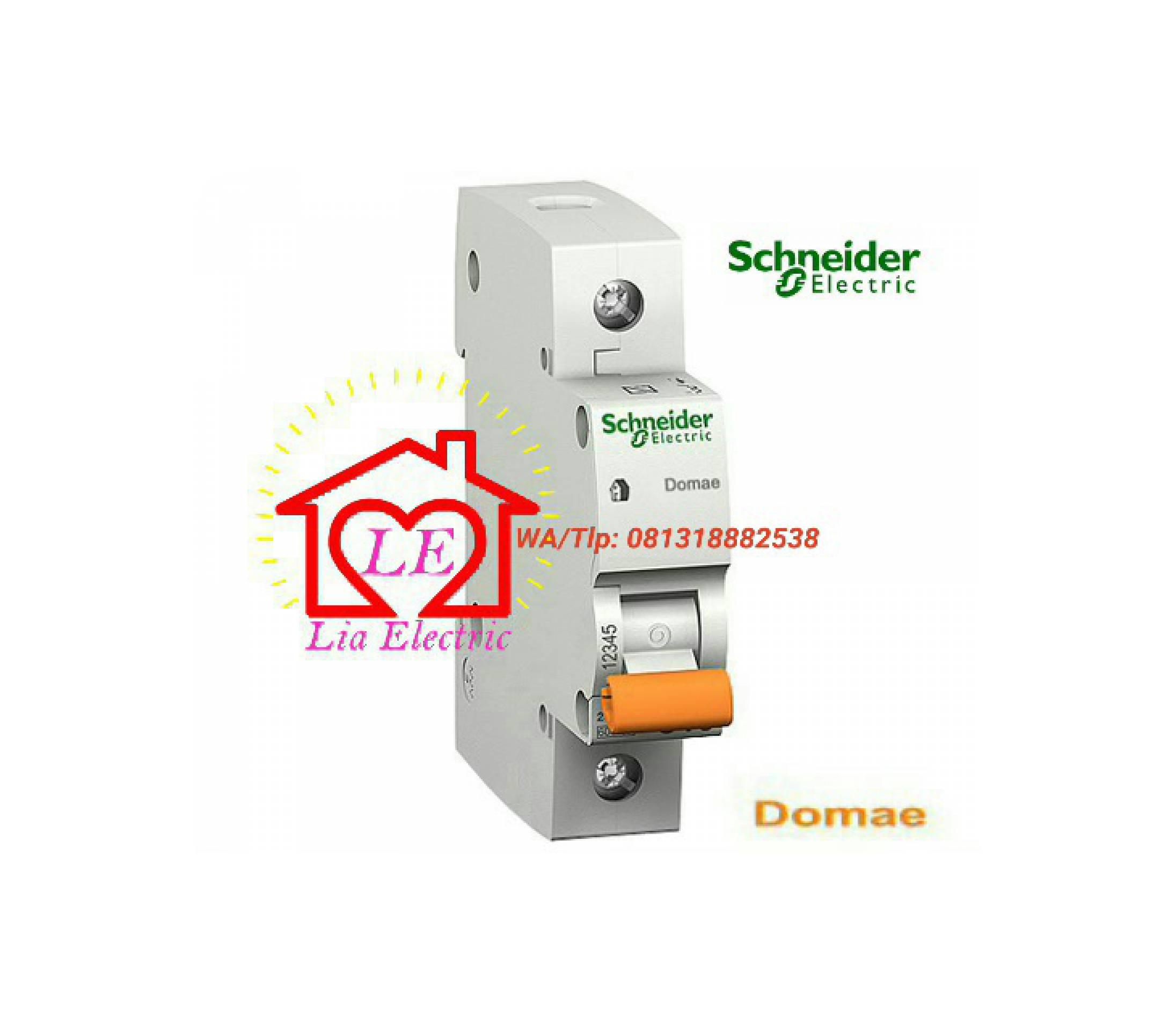 Mcb Schneider Electric 10a 1phase Domae Berkualitas Best Buy Indonesia Rcbo Slim 1p N 2a Dom12251sni Schneideridr83800 Rp 83800