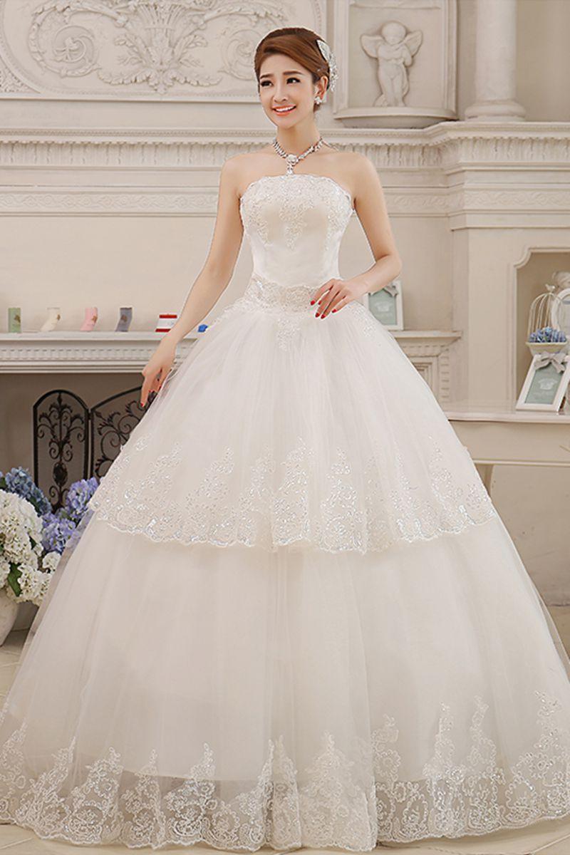 Gaun resepsi gaun pengantin pengantin wanita Model Korea gaun panjang sampai lantai 2019 model baru membentuk