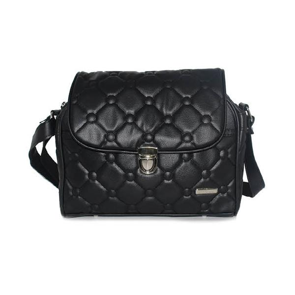 GARUCCI Tas Wanita Handbag - Bahan Virotex - 27x10x25 Murah & Berkualitas (Hitam) TAB 0804