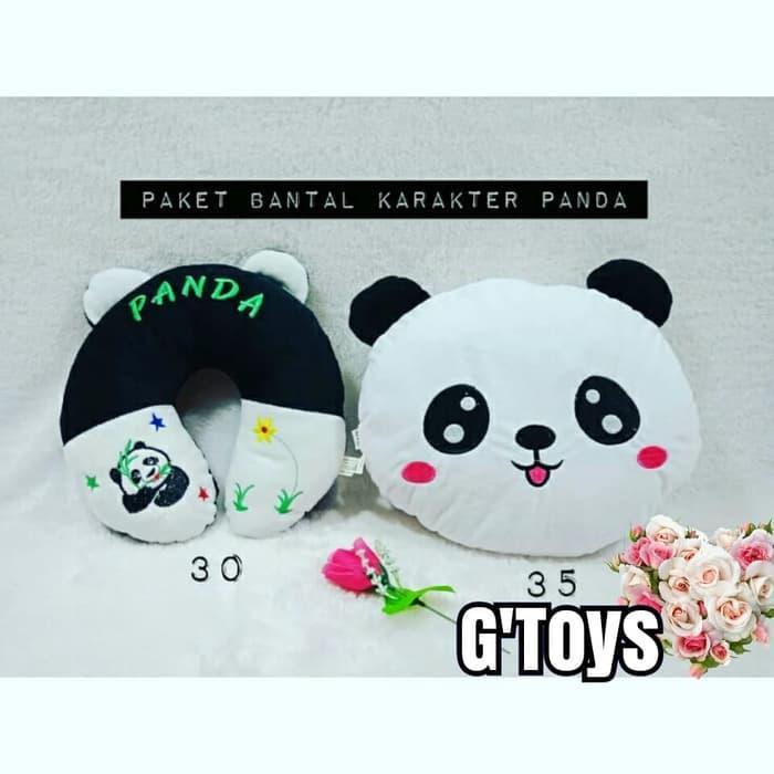 Neo Bantal Headrest Panda .
