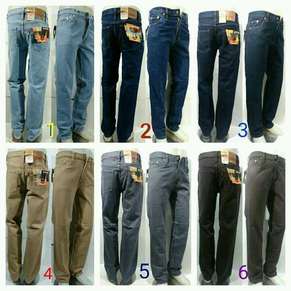 Celana Jeans Levis Langka Big size Jumbo (4 pilihan model warna)