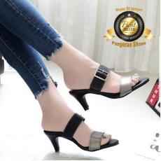 Sandal Heel Wanita AK27 MOCCA