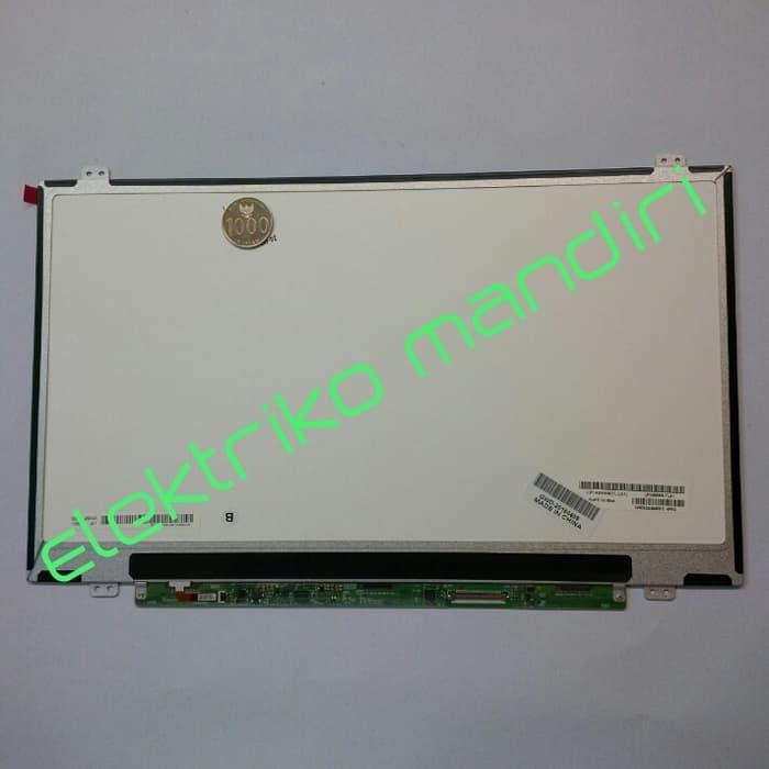 Hemat 10%!! Panel Led 14.0 Slim For Hp, Dell , Lenovo, Asus, Fujitsu/ Lp140Wh2 - ready stock