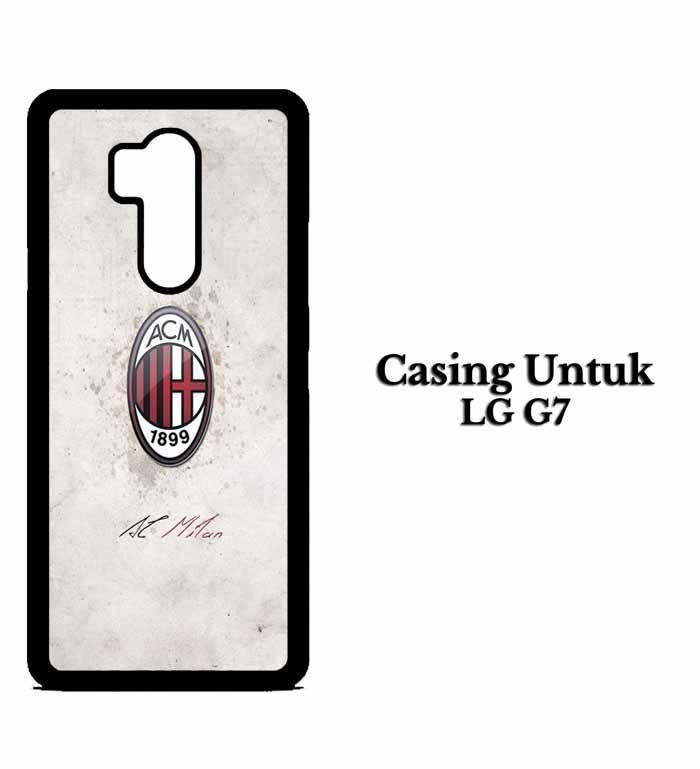 Casing LG G7 AC Milan Football Club Logo Hardcase Custom Case Snitchshop