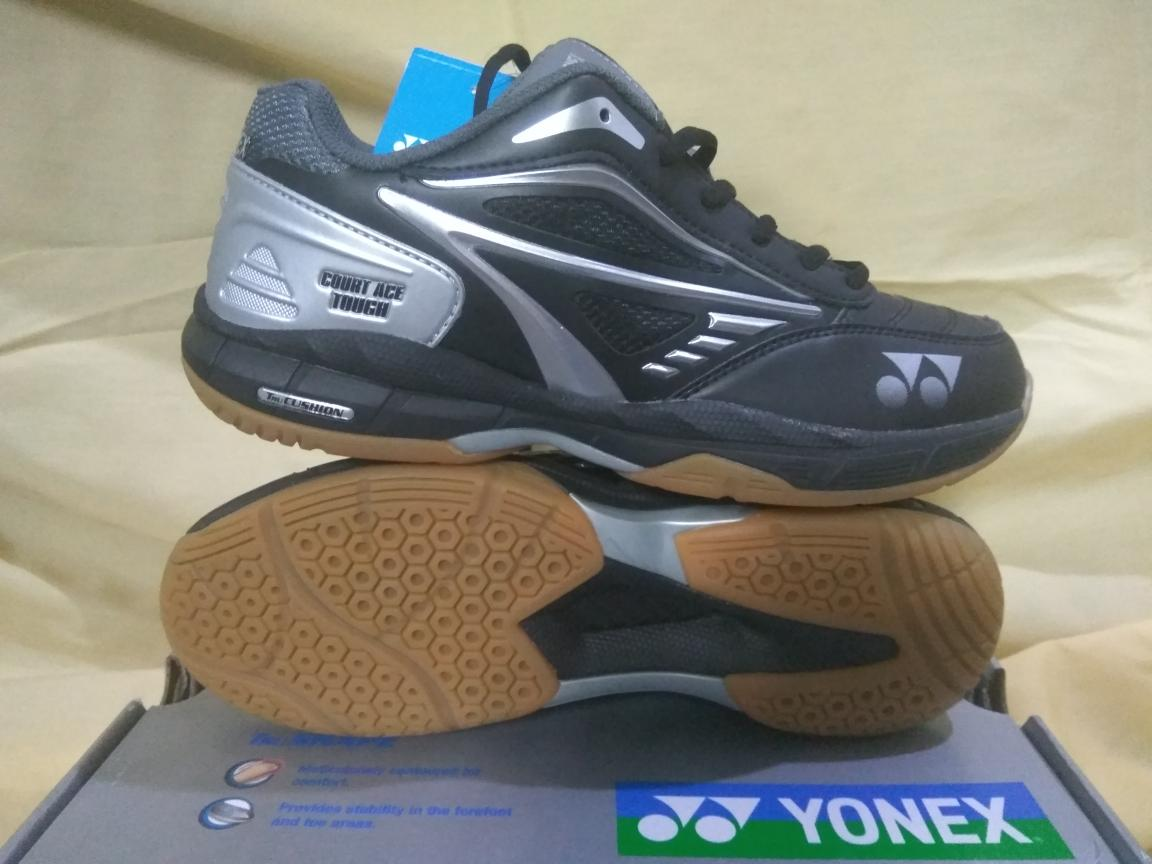 Sepatu Bulu tangkis Badminton Yonex Court Ace Tough Black