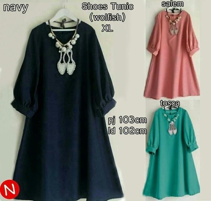 Jual Baju Atasan Wanita Tunik Baju Muslim Blus Muslim Story Pocket Terbatas! 8c7c880b54