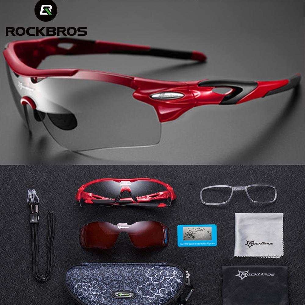 ROCKBROS Bersepeda Fotokromik Kacamata Bersepeda Olahraga Luar Ruangan MTB  Kacamata Sepeda Roda Dua Kacamata Sepeda Kacamata d718e8c121