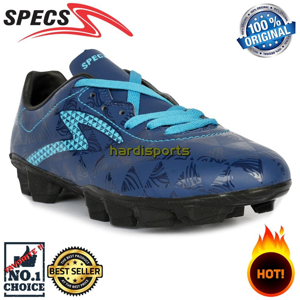 Sepatu Sepakbola Pria Specs Quark FG 100827 - Galaxy Blue