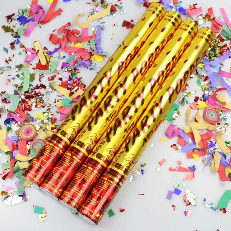 Party Popper 50 CM / Conffetti Manik Manik / Confetti Wedding / Confetti Party - 1