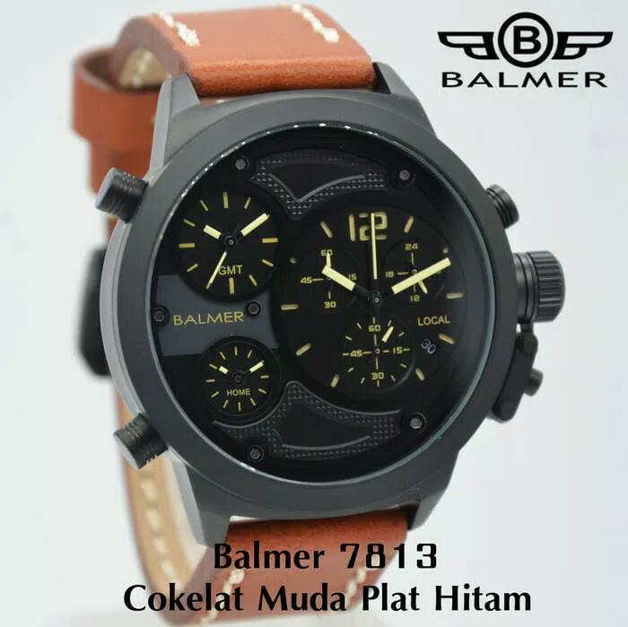 HOT PROMO  Jam Tangan Balmer Tripel Time Original ( Expedition Swiss Army Gc Ac )  /SALE
