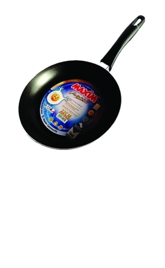 Jual Maxim Valen Tino 2 Set Wajan Penggorengan Wok 30cm Frypan 22cm Vallentino 30 Cm Valentino Fry Pan Teflon 22