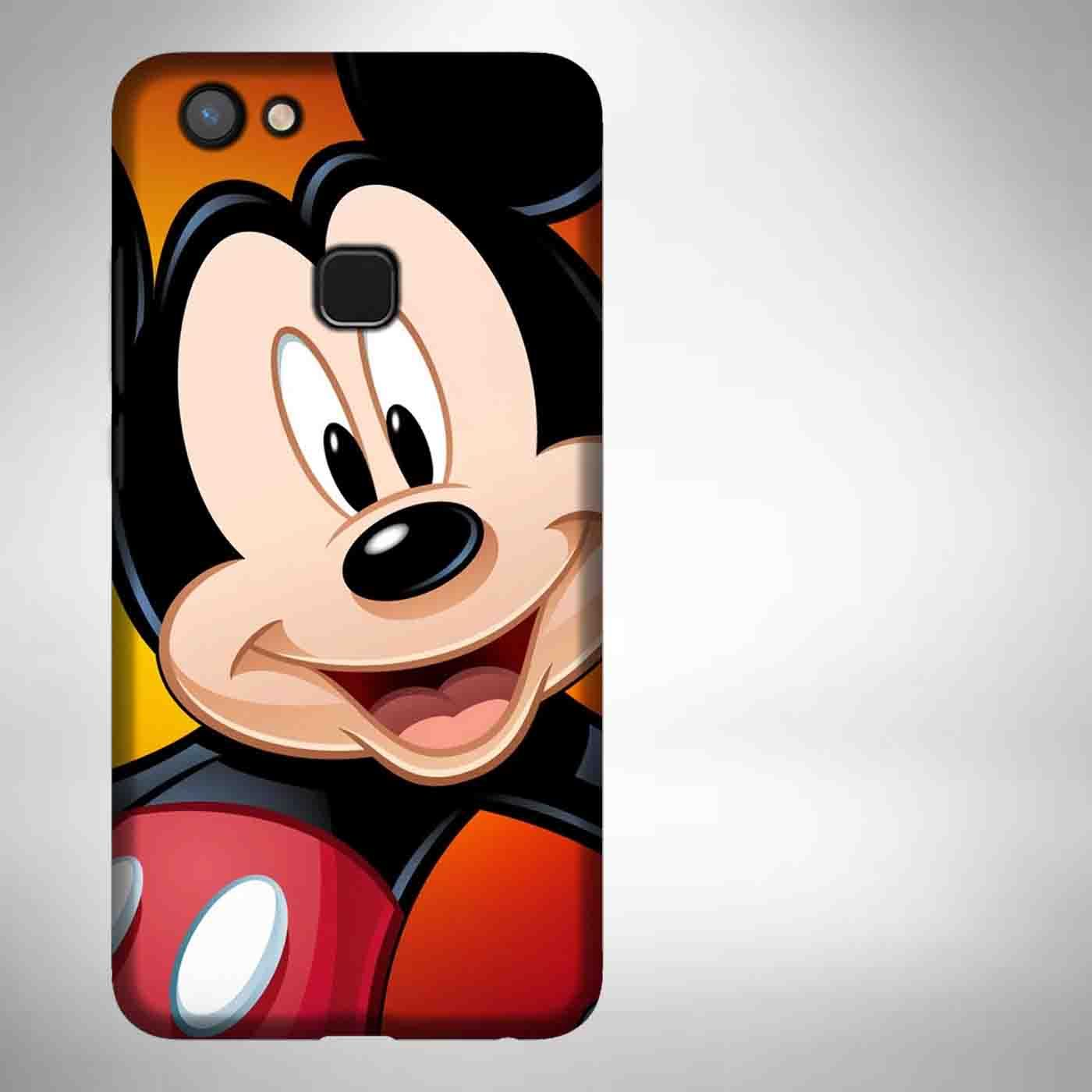 Mickey Mouse 6 Casing Custom Hardcase Full Print Vivo V7 Plus Case Cover