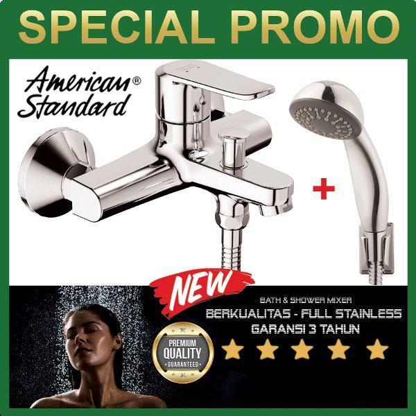 sale American Standard keran shower  panas dingin  terbaru 2018 Neo Modern exposed bath shower mixer