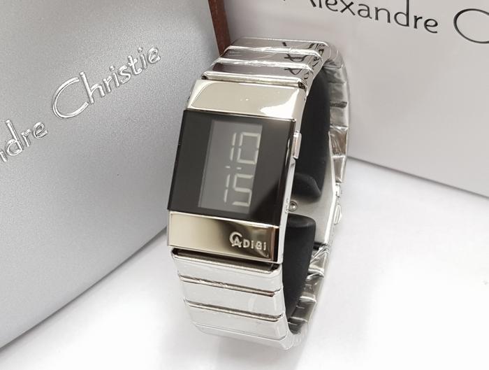 Rp 829000 Jam Tangan Wanita Alexandre Christie AC 9100 Digital Silver OriginalIDR829000 832000