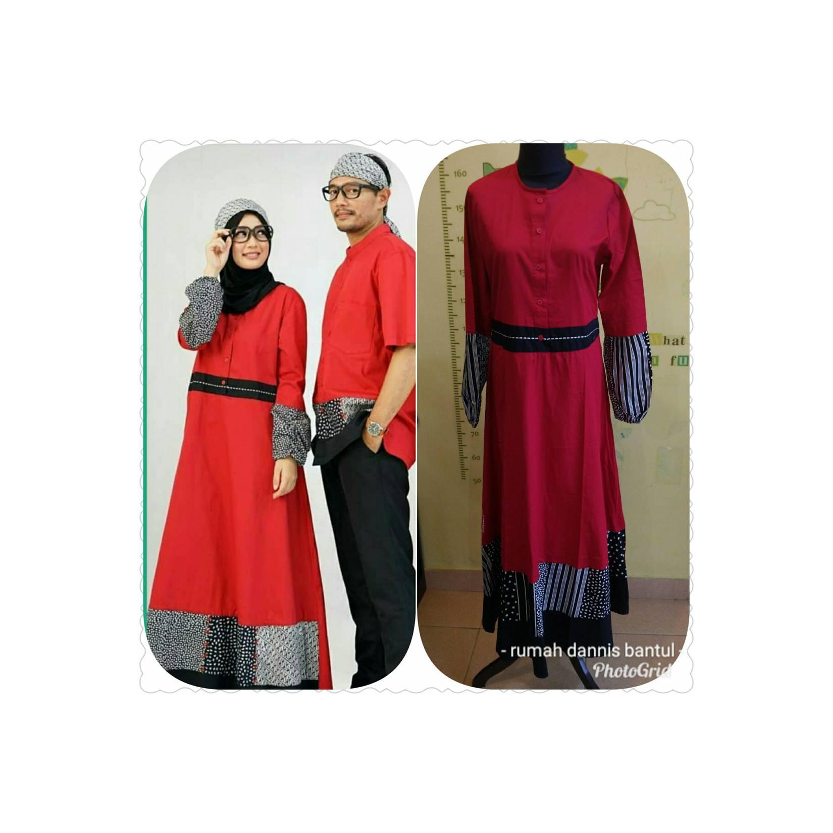 Abaya Dannis D'Luxury Red