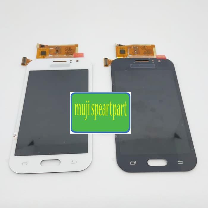 LCD Samsung Galaxy J1 Ace J110 J111F Fullset Touchscreen AA - Beige