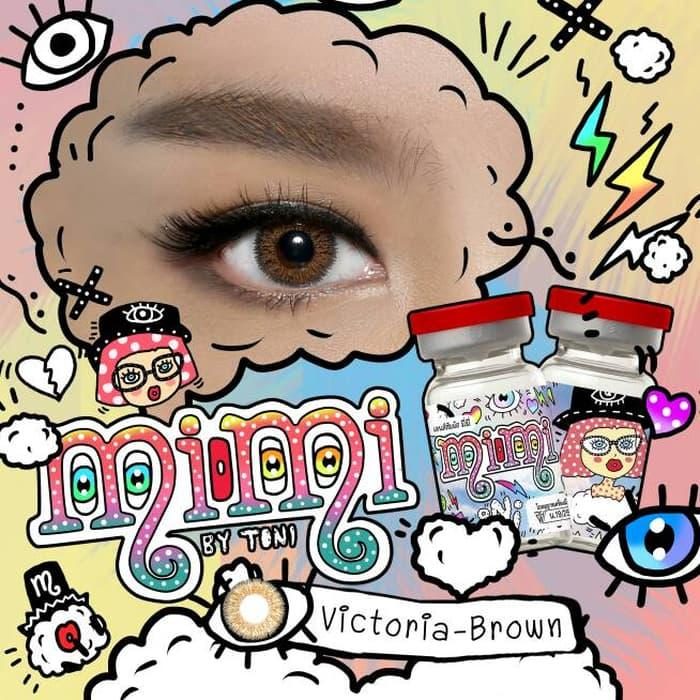 Softlens / Acc Softlens victoria by mimi Kualitas Super