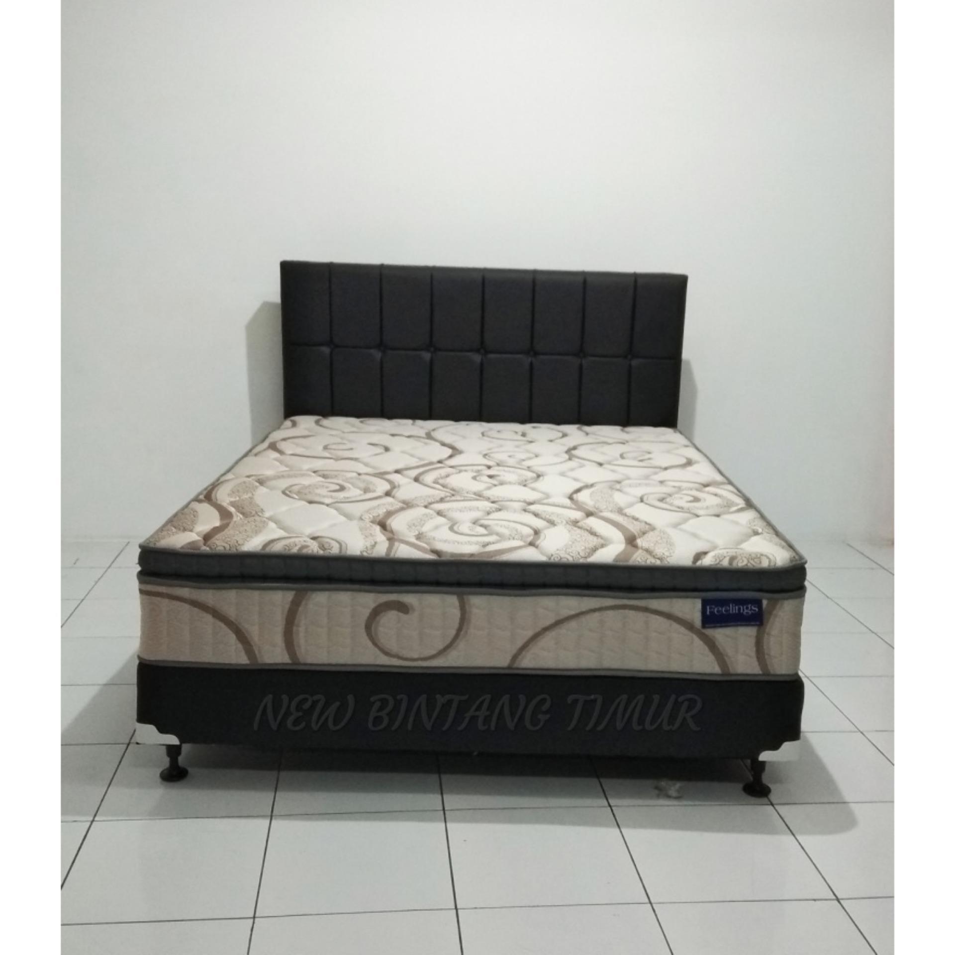 Spring Bed Romance Feelings Plush Top 160 x 200 Full Set