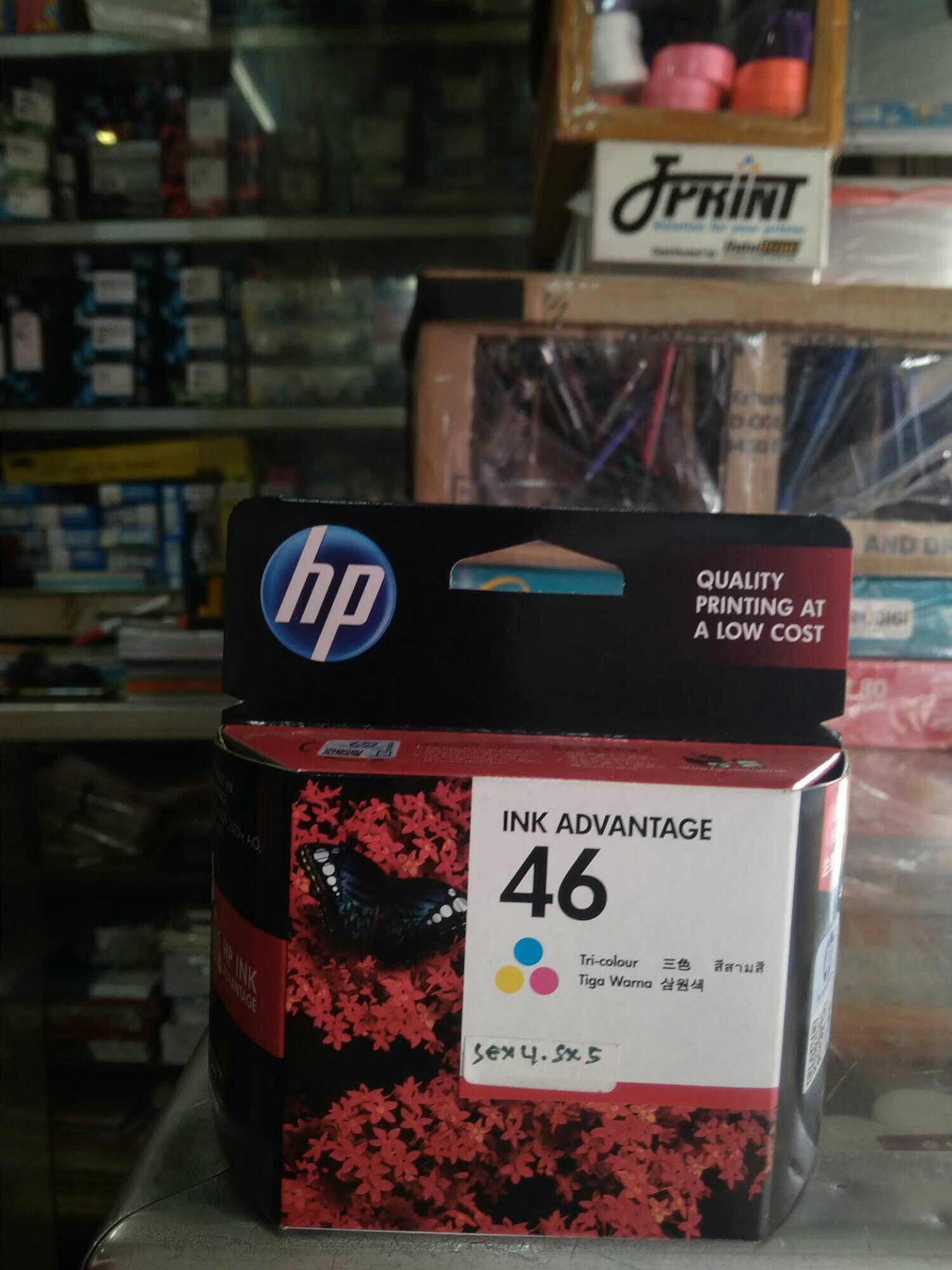 Jual Printer Cartridge Tinta Hp 680 Black 1115 46 Colour Original