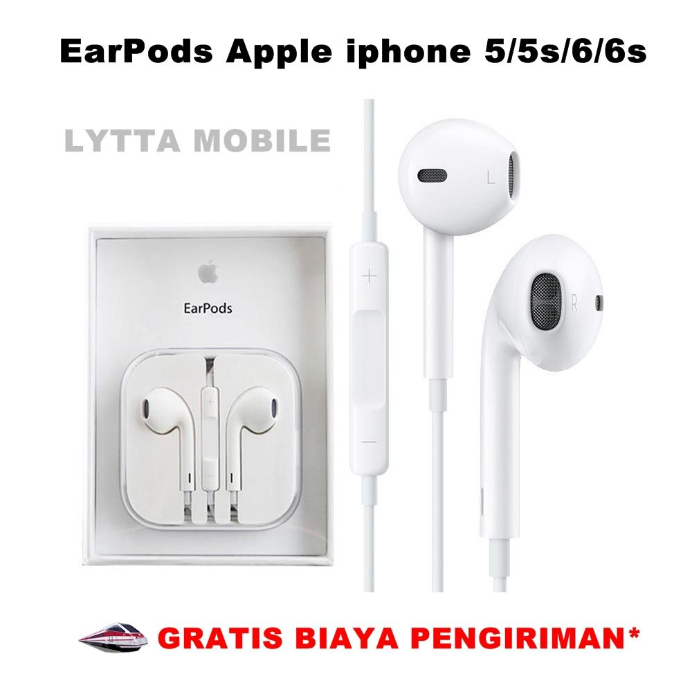 Buy Sell Cheapest Apple Earpods Handsfree Best Quality Product Earphone Iphone 5 Rainbow Colours Headset 6 Original 100