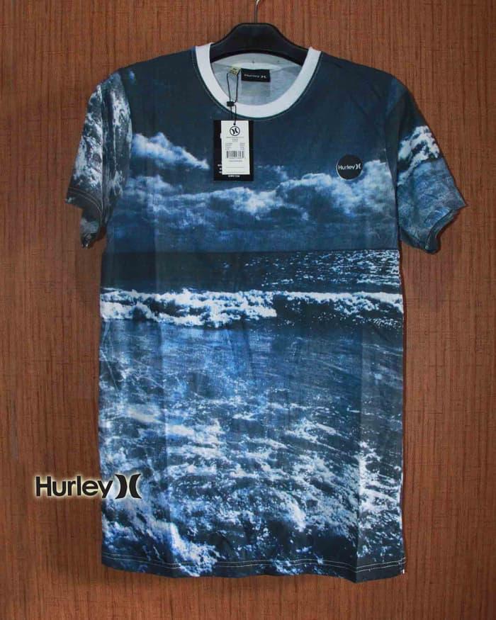Baju Kaos DIstro Surfing Hurley Fullprint 2
