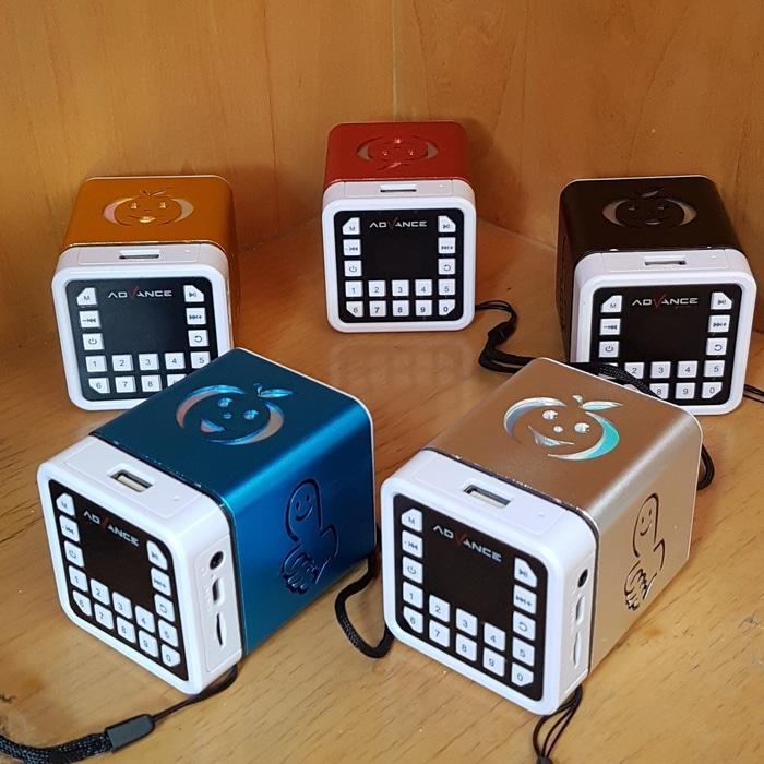 Advance R1 Portable Speaker Slot USB Micro SD TF Card -  Speaker -  Audio -  Elektronik Terbaru - Speaker Aktif - Best Seller - Speaker Usb  - Speaker Laptop - Speaker Murah - Speaker Portabel
