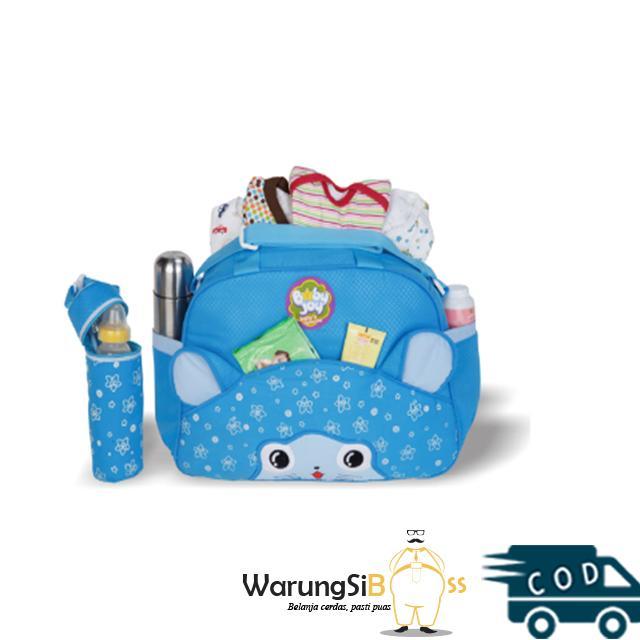 WarungSiBoss Tas Popok Bayi Besar + Botol Susu Baby Joy BJT 1019 Melody  Series   Tas 933a054f55