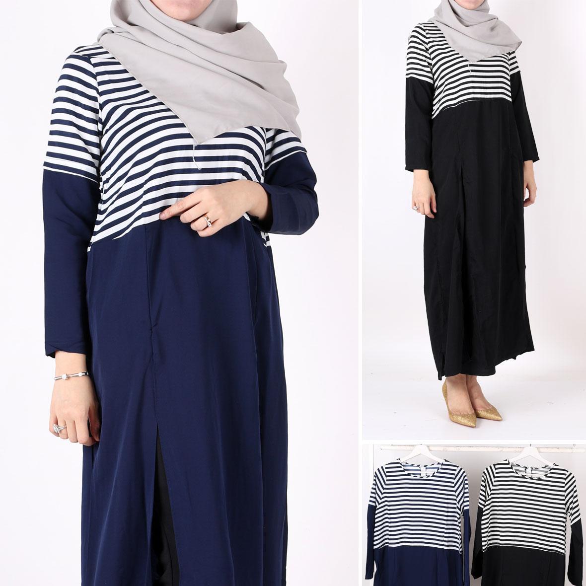 Dress Cotton Tanpa Lengan Anak Perempuan. Source · Oma Holley Fashion Elorea Maksi Dress Long