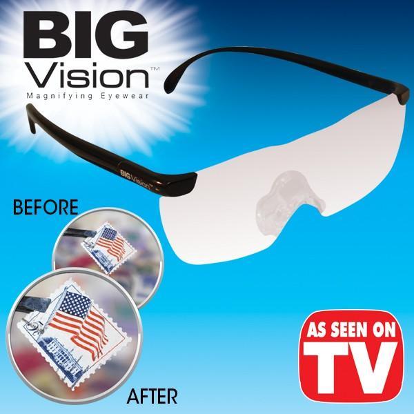 Kacamata Pembesar Big Vision - Clear
